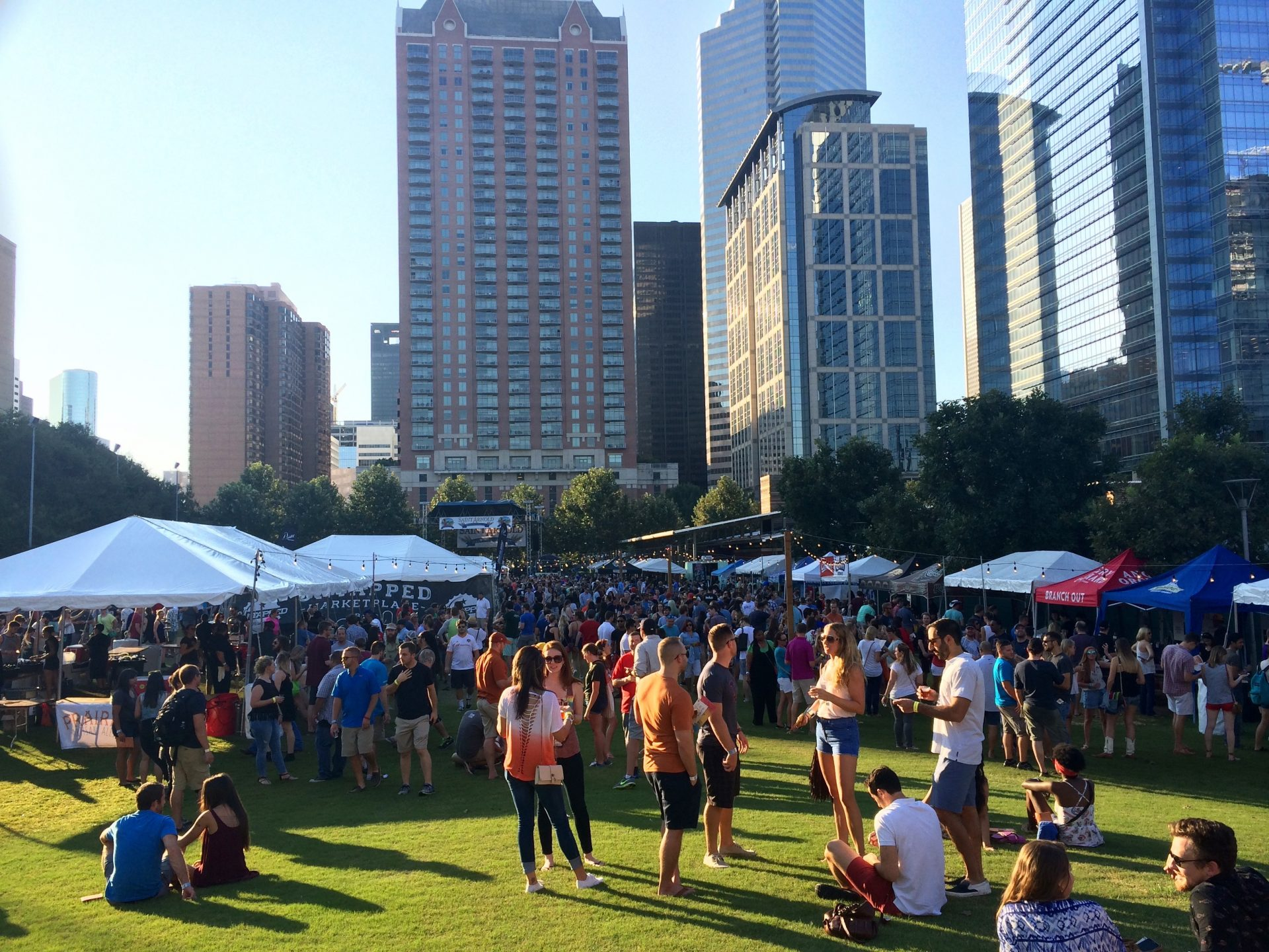 Festival de la  bière à Downtown Houston