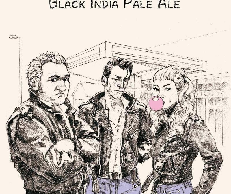 Nouvelle bière! Blouson Noir