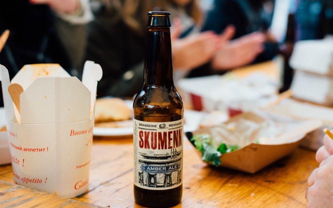 Le marché à manger avec Skumenn